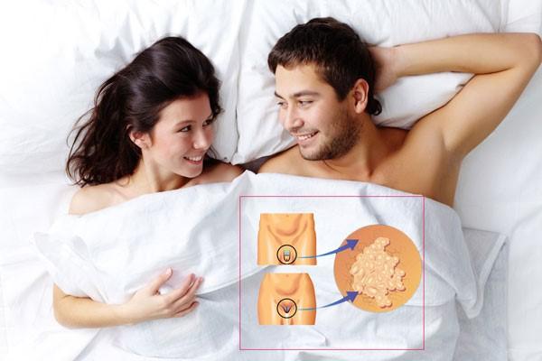чаще всего заражение происходит при половом контакте