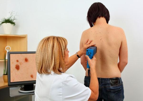 компьютерная диагностика новообразований кожи