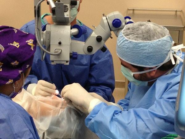 хирургическое удаление на лице