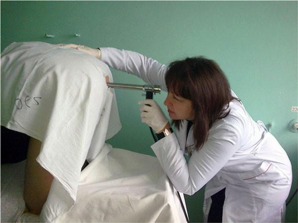 проведение аноскопии