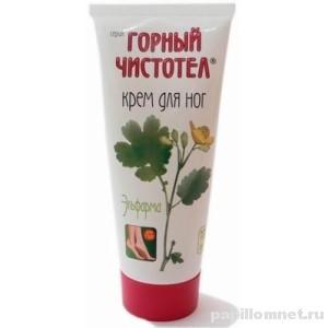 Упаковка крема Горный чистотел