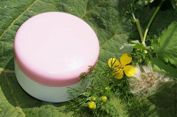 применение отбеливающего крема
