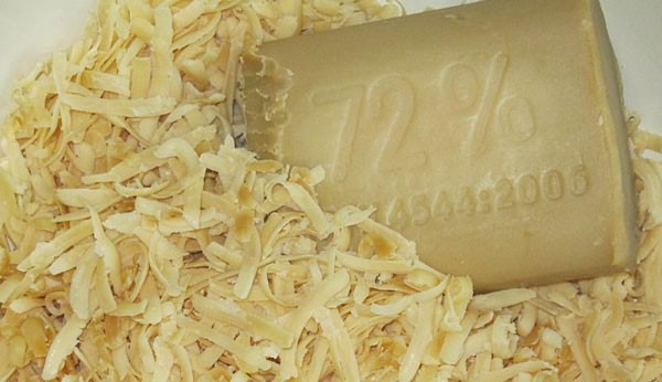 применение хозяйственного мыла при лечении папиллом