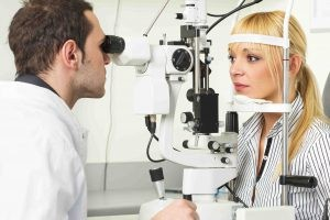 Способы диагностики невуса глаза