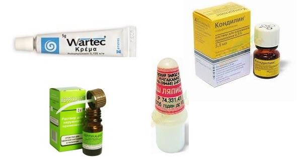 препараты от наростов