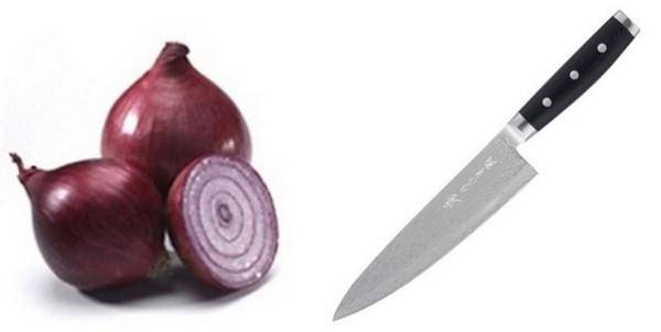 нож и лук для обряда